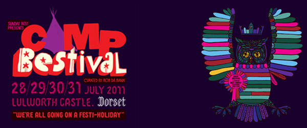 Camp Bestival 2011 unveils the first wave of its rapturous line up