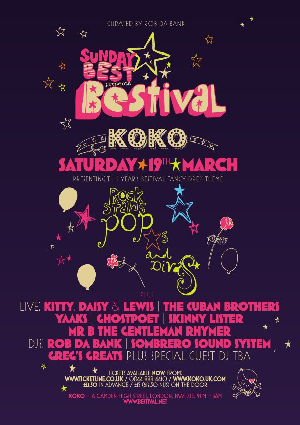 Bestival's new Fancy Dress theme & Koko party lineup 2011 announced