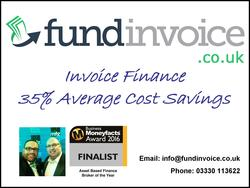 FundInvoice 35% Average Invoice Finance Cost Savings